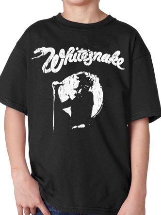 Whitesnake (Rock N Roll) Kids T-Shirt
