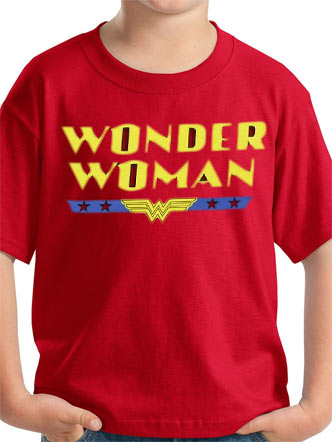 Wonder Woman (Logo) Kids T-Shirt