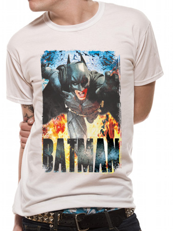 Batman Dark Knight Rises (Running Flames) T-shirt