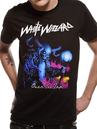 White Wizzard (Over The Top) T-shirt