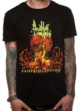 And Hell Followed With (Proprioception) T-shirt
