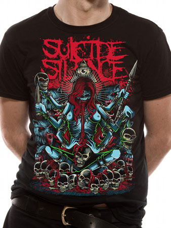 Suicide Silence (Tribal) T-shirt Preview