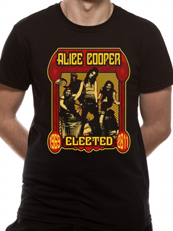 Alice Cooper (Elected Band) T-shirt