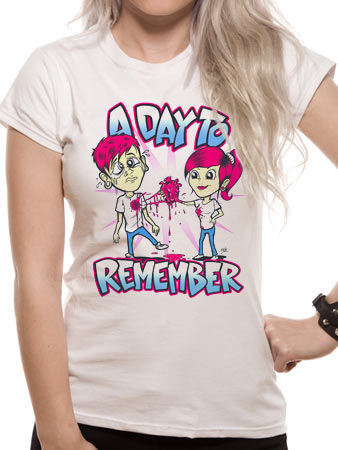 A Day To Remember (Girls Are Mean)  T-shirt