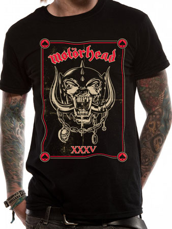 Motorhead (Anniversary) T-shirt Preview