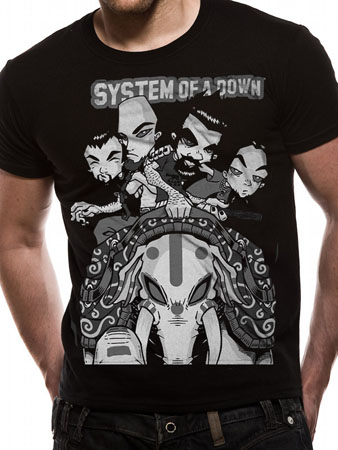 System Of A Down (Boom) T-shirt