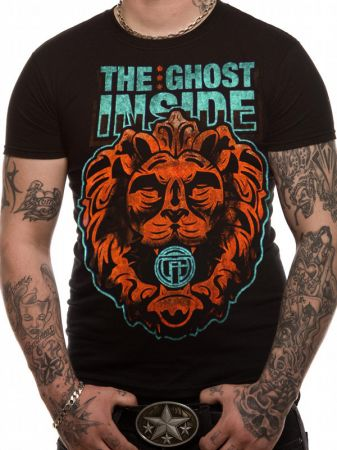 Ghost Inside (Lion Heart) T-shirt