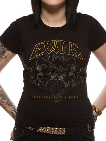 Evile (Five Serpents Teeth) T-shirt