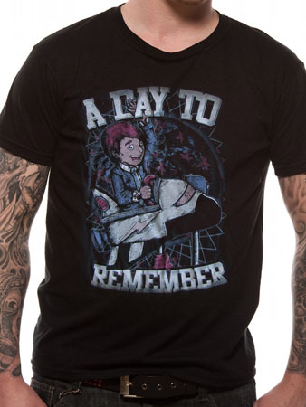 A Day To Remember (Space Boy) T-shirt Thumbnail 1