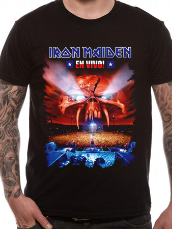 Iron Maiden (En Vivo) T-shirt