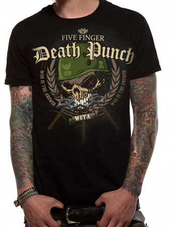 Five Finger Death Punch (War Head) T-shirt