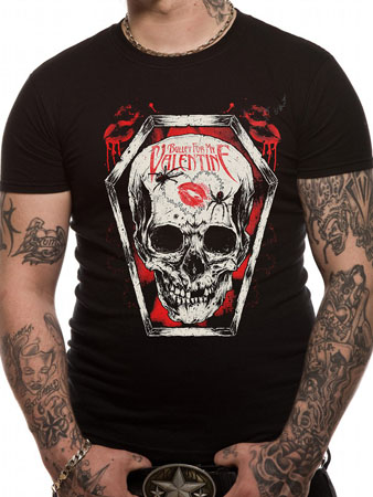 Bullet For My Valentine (Skull Kiss) T-shirt