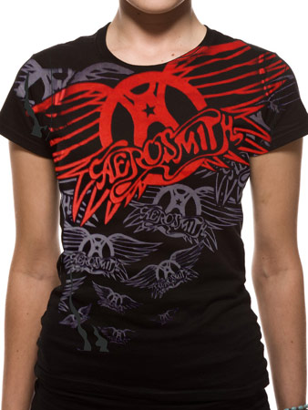 Aerosmith (Repeat) T-shirt Thumbnail 1