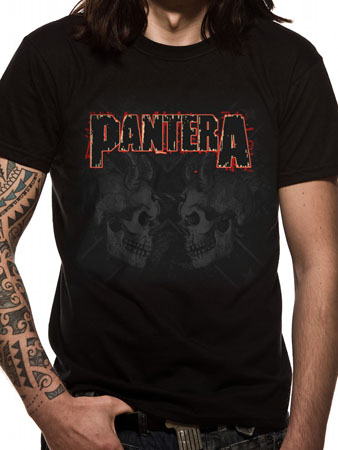 Pantera (Watermarked Skulls) T-shirt