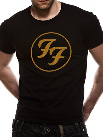 Foo Fighters (Gold Logo) T-shirt