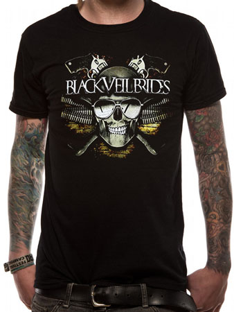 Black Veil Brides (Skull) T-shirt