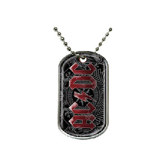 AC/DC (Black Ice) Dog Tags