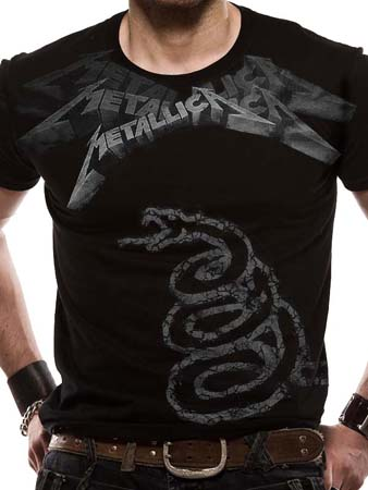 Metallica (Black Album Faded) T-shirt