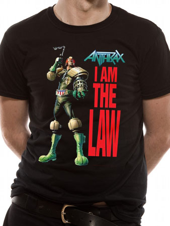 Anthrax (I Am The Law) T-shirt