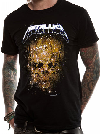 Metallica (Skull Explosion) T-shirt Preview