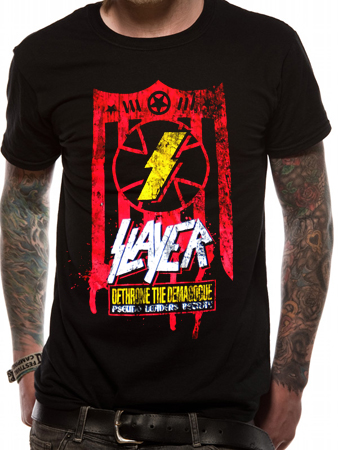 Slayer (Dethrone the Demagogue) T-Shirt Thumbnail 1