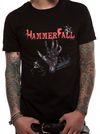Hammerfall (Infected) T-shirt Preview