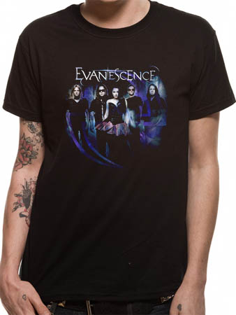 Evanescence (Five) T-shirt Preview