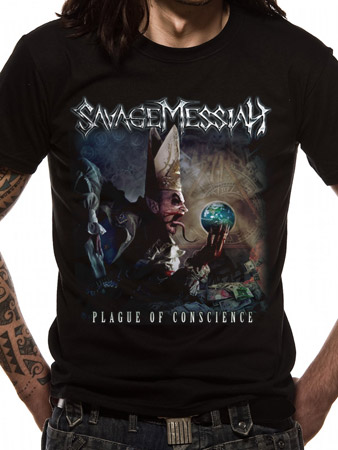 Savage Messiah (Plague Of Conscience) T-shirt