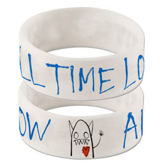 All Time Low (Logo) Wristband Preview