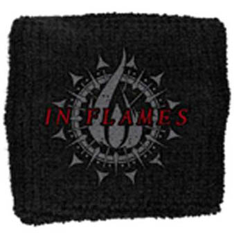 In Flames (Circular Flame) Sweatband