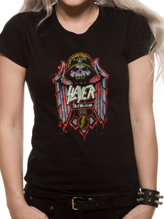 Slayer (Life Decays) Fitted T-Shirt Thumbnail 1