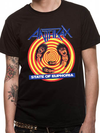 Anthrax (State Of Euphoria) T-shirt