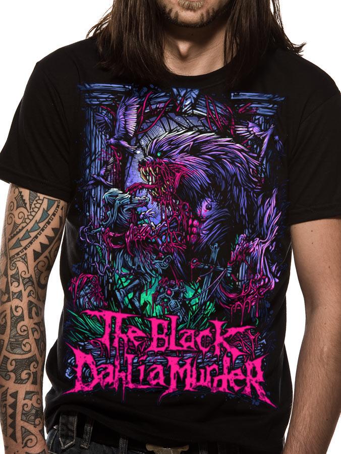 Black Dahlia Murder (Wolfman) T-shirt
