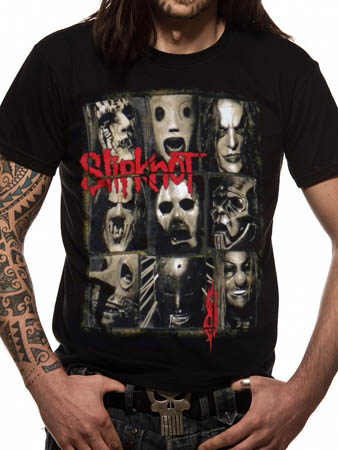 Slipknot (Mezzotint Decay) T-shirt