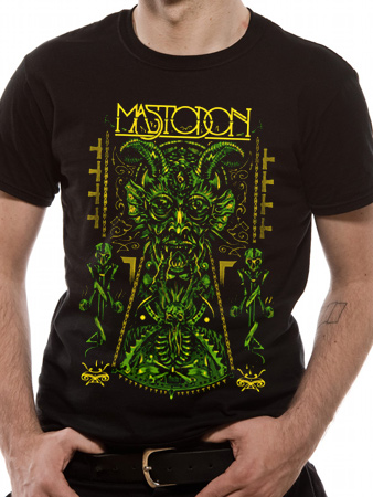 Mastodon (Devil) T-shirt Thumbnail 1