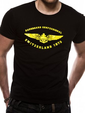 Dashboard Confessional (Swiss) T-shirt