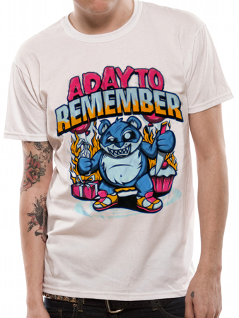 A Day To Remember (Cupcake Bear) T-shirt