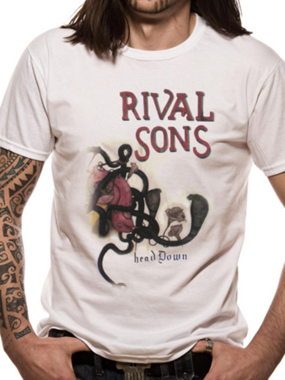 Rival Sons Rival Sons Head Down T-shirt