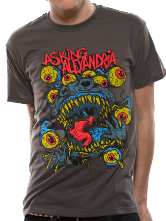Asking Alexandria (Eyeball Monster) T-shirt