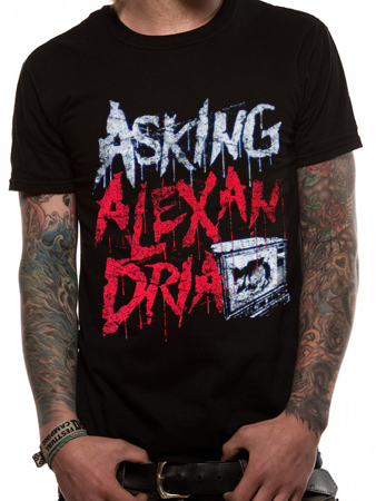 Asking Alexandria (Stacked) T-shirt