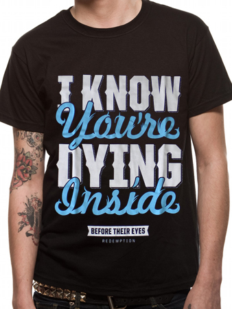 Before Their Eyes (Dying Inside) T-shirt Preview
