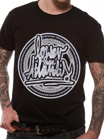 Lower Than Atlantis (Stamp) T-Shirt