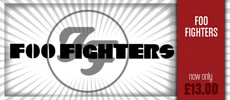 Foo Fighters stock at Loudclothing.com