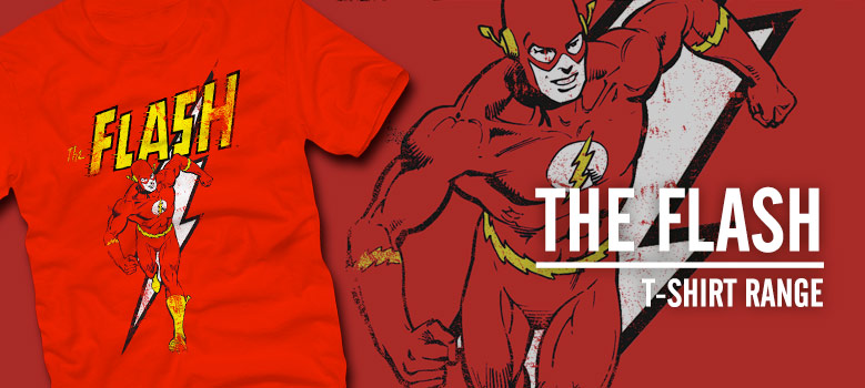 Official Flash Tees and merchandise