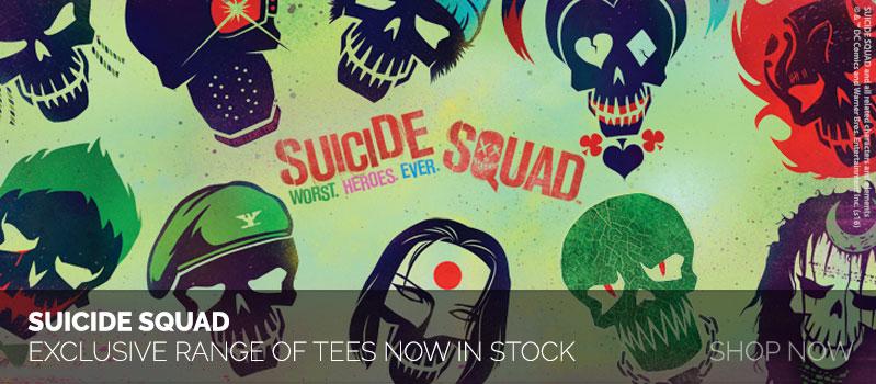 Suicide Squad shirts