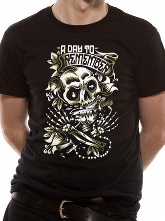 A Day To Remember (Death Skull) T-shirt Preview