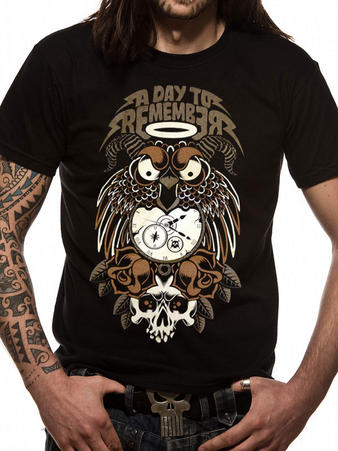 A Day To Remember (Owl) T-shirt Preview