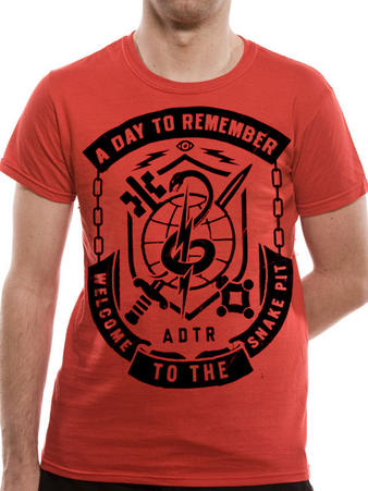 A Day To Remember (Snake Pit) T-shirt Preview