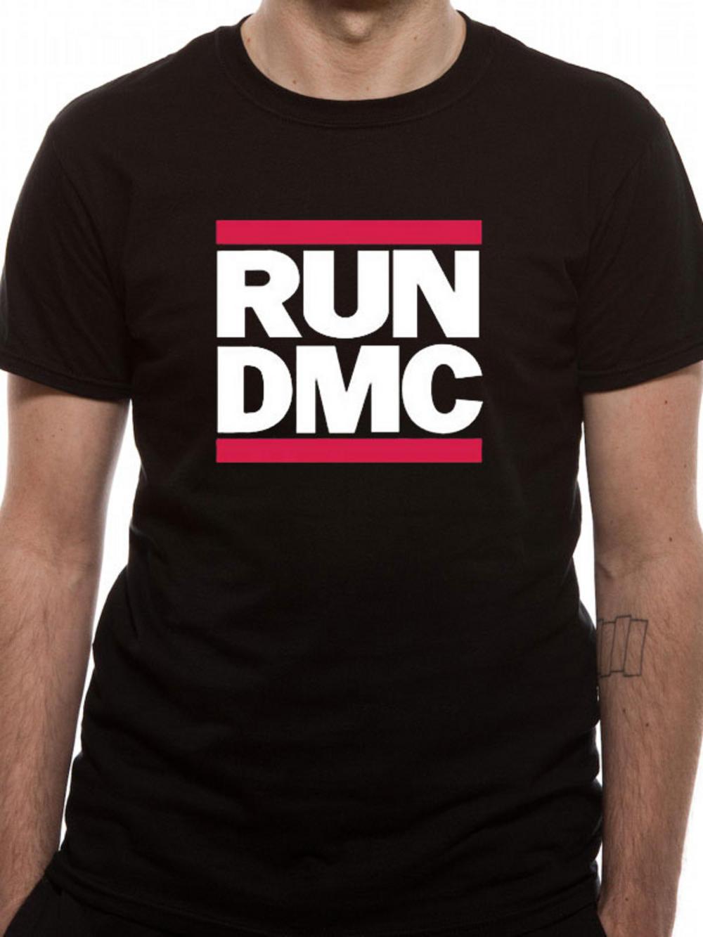 run dmc logo t shirt tm shop. Black Bedroom Furniture Sets. Home Design Ideas