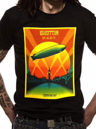 Led Zeppelin (Celebration Day) T-Shirt Preview
